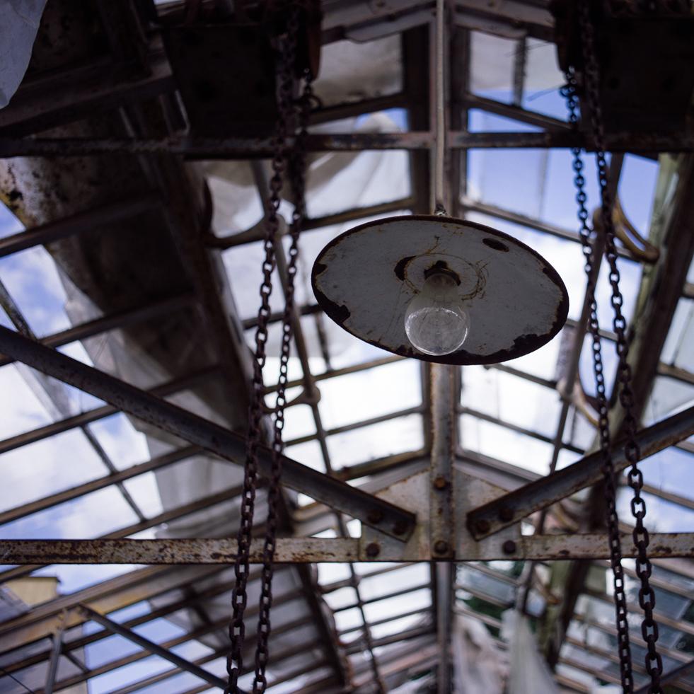 La lampe en détail